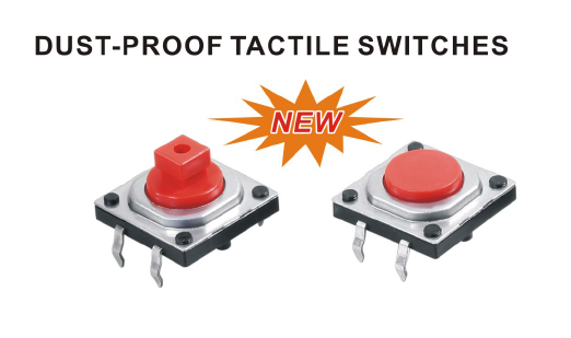 Dust Proof Tact switch C1201 12*12  HIGH LIFE