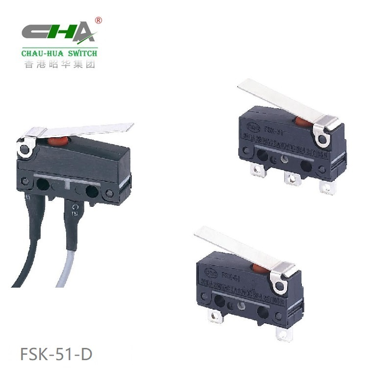 Waterproof Micro Switch FSK-51 Series
